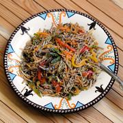 2 японских рецепта без мяса: овощи в темпуре и лапша соба с тофу