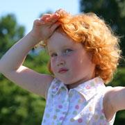 Как избежать тепловой болезни у детей
