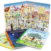Лучшие детские книги для рассматривания от Ротраут Сузанны Бернер