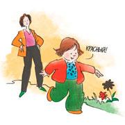 Изучаем цвета и формы: раннее развитие на прогулке