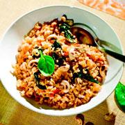 2 рецепта с овощами: фаршированный перец и рис по-индийски