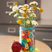 Цветы к 1 сентября:  букеты своими руками и не только