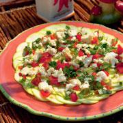 Салат из кабачков и перцы в духовке: 2 рецепта