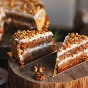 Домашний морковный торт: пошаговый рецепт
