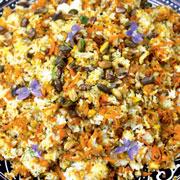 Персидская кухня: перевернутая запеканка 'Маклуба' и сладкий рис