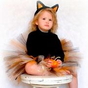 Новогодние костюмы для девочек: пышная юбка своими руками