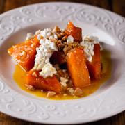 Андрей Шмаков: 2 зимних рецепта: тирамису с вишней и тыква с медом и орехами