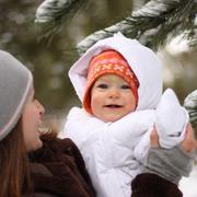 Как носить ребенка в слинге зимой: одежда для мамы, одежда для малыша