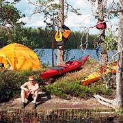 Финляндия: коттеджи, рыбалка - природный парк Хосса