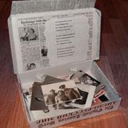 Чемоданчик для фото: подарок своими руками на 23 февраля