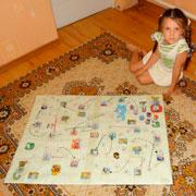 Игра-бродилка для девочки своими руками: опыт мамы
