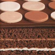 Шоколадный торт в горошек: десерт для вечеринки своими руками