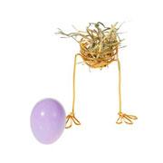 Цветы – в яйцах! Украшения к Пасхе своими руками