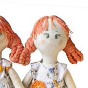 Ийя Чуракова: Тряпичная кукла своими руками: выкройка и советы для начинающих