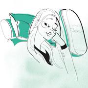 Косметика и макияж - в самолете и в отпуске: что на что намазать?