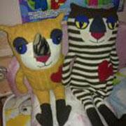 Любимые коты Златы: мягкие игрушки своими руками