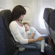 Путешествие с ребенком на машине и в самолете. Что предусмотреть?