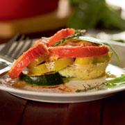 3 рецепта в духовке: запеченные кабачки, перец, баклажаны