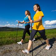 Ходьба - скандинавская и просто. Сколько ходить, чтобы похудеть?