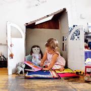 Коробка плюс фантазия: детский домик своими руками