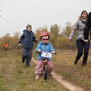 Спортивный выходной: марафон для папы и беговел для дочки