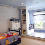Детская комната: дизайн, мебель, обои и спортивный уголок