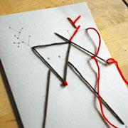 Новогодние открытки своими руками: простая и симпатичная вышивка