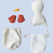 Снеговик своими руками к Новому году: текстильная кукла