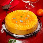 Новогодние рецепты: торт с мандаринами и елочка из профитролей