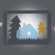 Игры в темноте. Чем занять ребенка зимними вечерами: теневой театр и еще 4 забавы