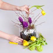 Подарок на 8 марта: цветы, которые долго не завянут. Мастер-класс