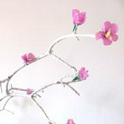 Ветка сакуры: поделка своими руками к 8 марта. Подарок и украшение