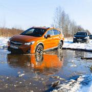 Женский тест-драйв обновленной Subaru XV по городу и бездорожью