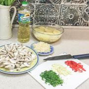 Картошка с грибами в духовке: рецепт от Марии Куликовой
