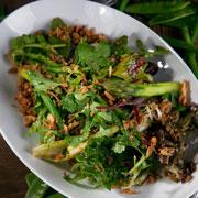 Вкусные постные рецепты: щи, драники и салат с зеленой фасолью