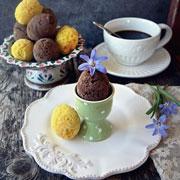 Пасхальные яйца из шоколада и 2 кулича: рецепты к Пасхе