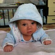 Первое достижение сына: 1500 г за первый месяц