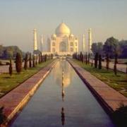 Тадж Махал, мраморное чудо Индии