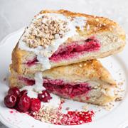 Вместо пирогов: рецепты с черникой и вишней. Завтрак и десерт