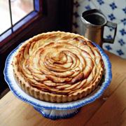 Анна Мартинетти: Яблочный пирог: простой и красивый. Рецепт с фото