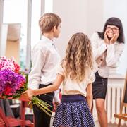 Какие цветы любят получать учителя?