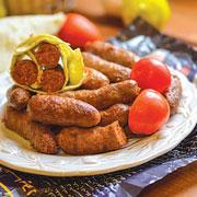 Домашние колбаски для гриля: мергез. Вместо шашлыка