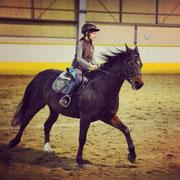 Девочка и конный спорт – против воли родителей