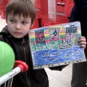 Победа в конкурсе рисунков. Приз - путевка в Крым