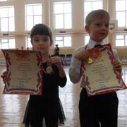 Спортивные бальные танцы, первая медаль – в 6 лет