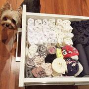Как складывать носки, трусы и колготы? Наводим порядок с Мари Кондо