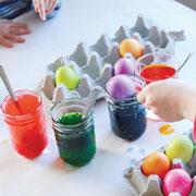 Красим яйца. 5 способов покрасить яйца вместе с детьми