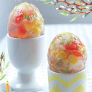 Рецепты на Пасху: заливное в яйцах и телятина в духовке