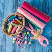 Как валять игрушки из шерсти