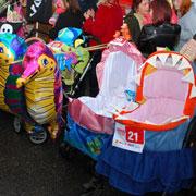 Как украсить детскую коляску на парад колясок